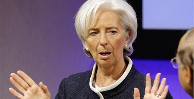Lagarde'den Komşu'ya kötü haber