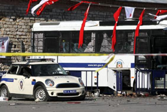 Taksim'de saldırı
