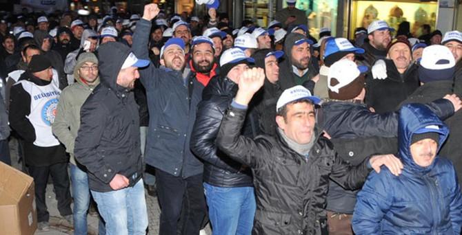1500 işçiden hükümete 'kıdem' mesajı