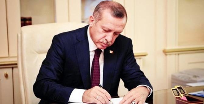 Cumhurbaşkanı Erdoğan, 9 yasayı onayladı
