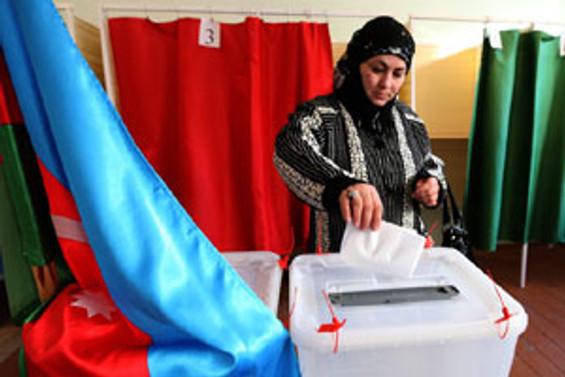 Aliyev'in partisi zafere yakın