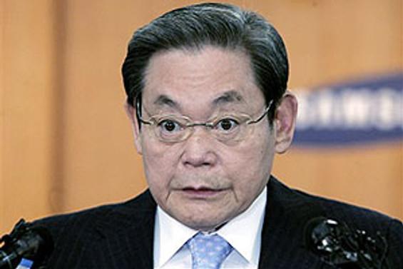 Samsung'un eski başkanı Lee yeniden şirketin başında