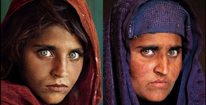 Ünlü ''Afgan Kızı''nın 30 yıl sonraki hali