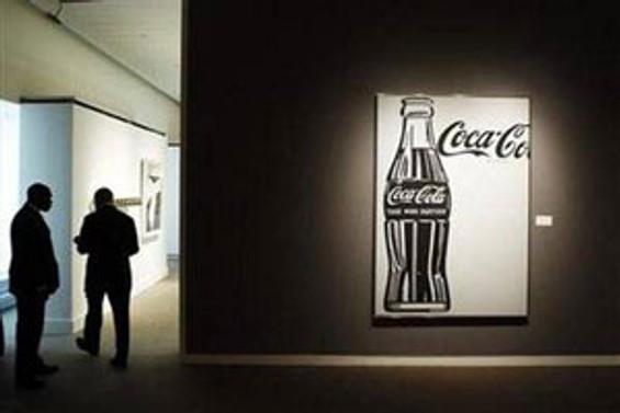 Kola şişesi tablosu 35,36 milyon dolar