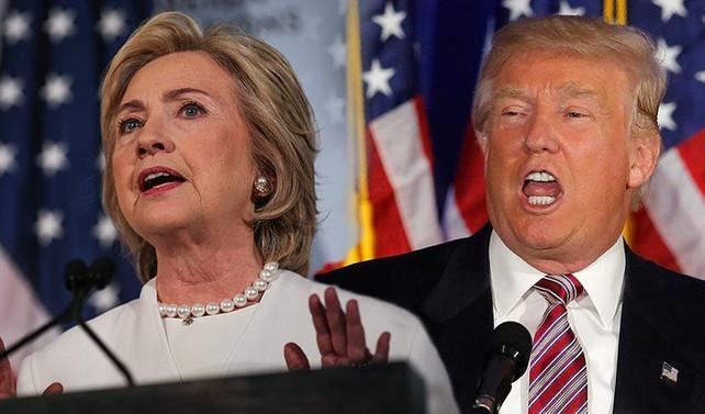 Clinton ile Trump arasındaki en sert başkanlık tartışması