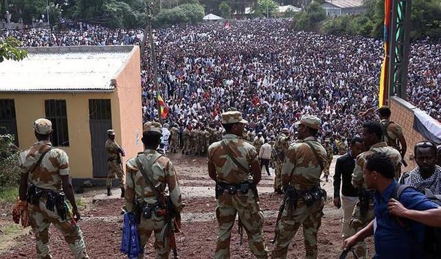 Etiyopya'da milli bayram kutlamaları karıştı: 52 ölü