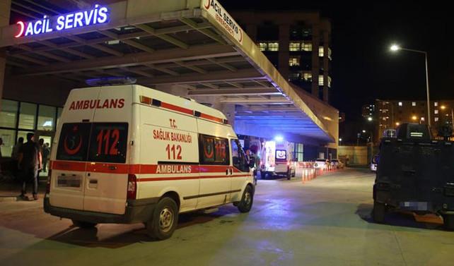 Polis kontrol noktasına saldırı: 2 yaralı