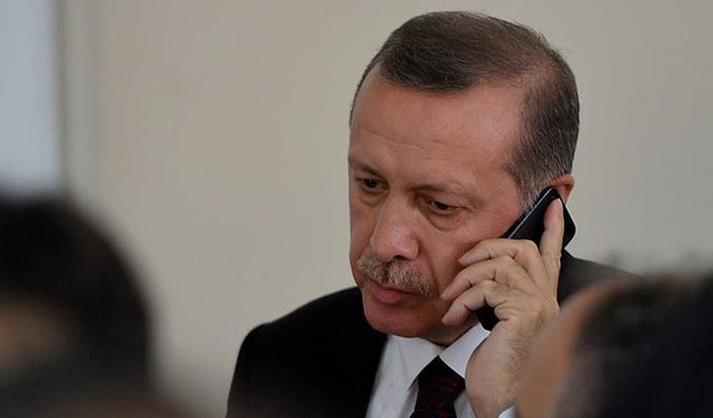 Cumhurbaşkanı Erdoğan'dan Tezcan'a geçmiş olsun telefonu