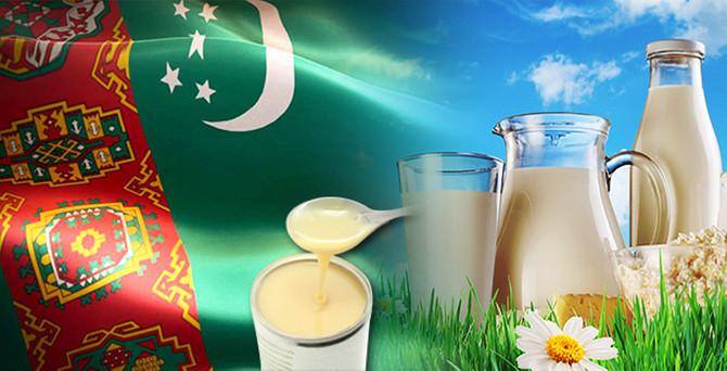 Türkmenistan'da konsantre süt üretim hattı yatırımı