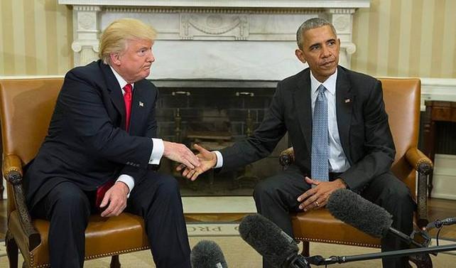 Trump, başkan seçildikten sonra ilk kez Beyaz Saray'ı ziyaret etti