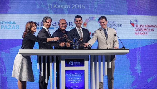 Borsa İstanbul'da gong 'girişimcilik' için çaldı