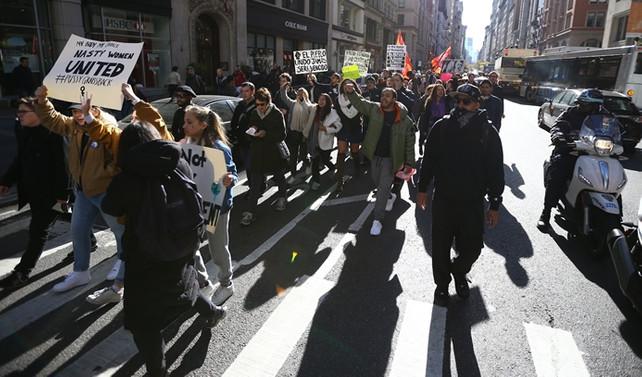 ABD'de Trump karşıtı gösteriler devam ediyor