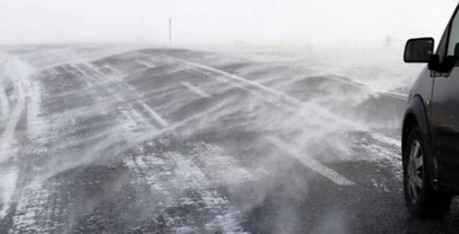 Doğu Anadolu'da buzlanma bekleniyor