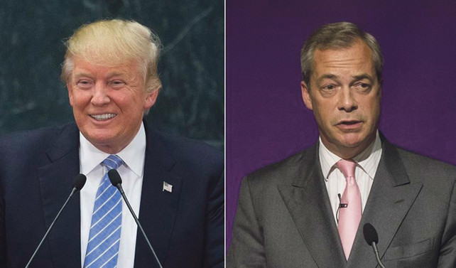 Farage-Trump görüşmesi rahatsızlık yarattı