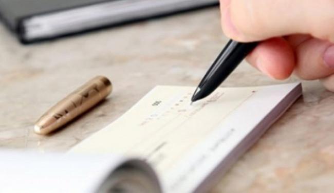Bankalara ibraz edilen çek adedi azaldı