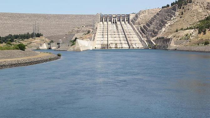 Atatürk Barajı tek başına Türkiye'ye yetiyor