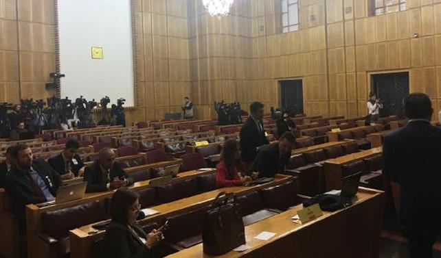 HDP grup toplantısına konuklar alınmadı