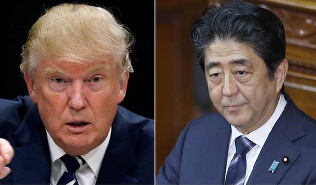 Trump ilk olarak Abe ile görüşecek