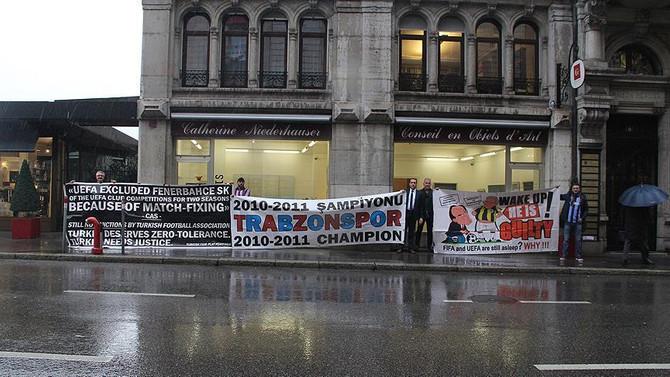 Trabzonspor'un CAS duruşması başladı