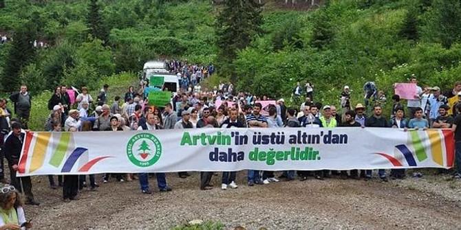 Artvin'de eylem yasağı süresi uzatıldı