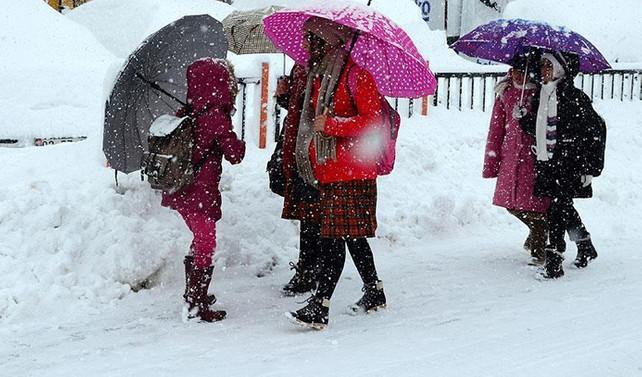 Yılın ilk kar tatili haberi geldi