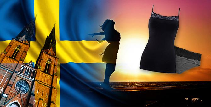 İsveç, bayan iç giyim ürünleri istiyor