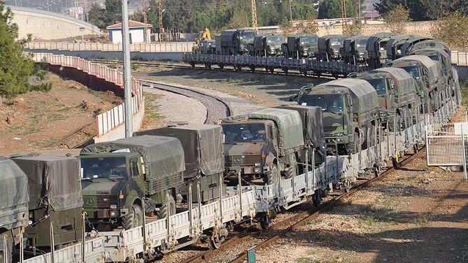 Askeri birliklerin taşınmasında sona gelindi