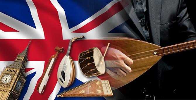 İngilizler Türk müziğine ilgi duyuyor