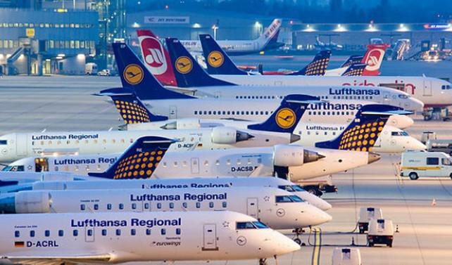 Almanya'da havayolu şirketlerinde grev