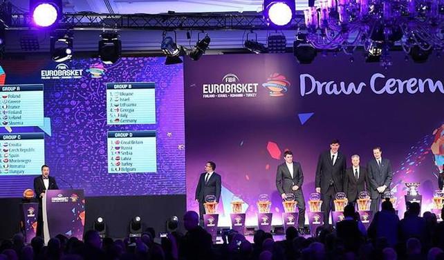 2017 Avrupa Basketbol Şampiyonası'nda rakipler belli oldu