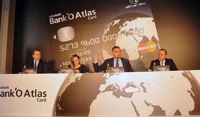 Odeabank ve Atlasglobal'dan ortak kart
