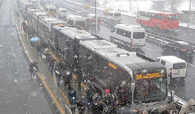 İstanbul'da ilk kar için tarih verildi