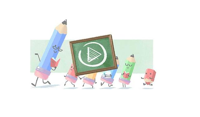 Google, Öğretmenler Günü'nü unutmadı