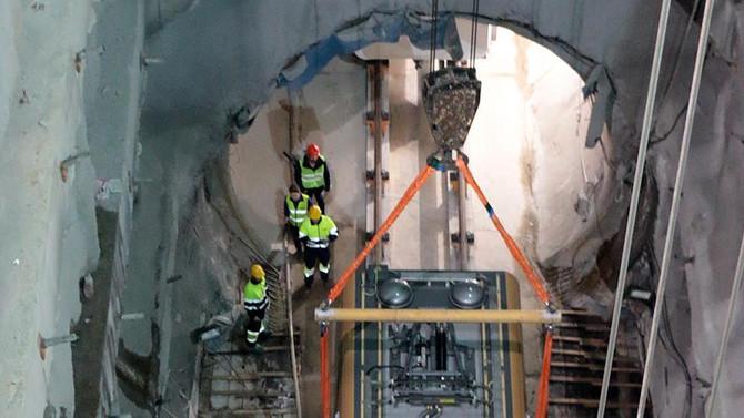 İstanbul'un yeni metrosunda deneme seferleri başlıyor