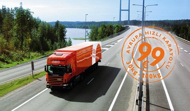 TNT'den 'hızlı Avrupa' hizmeti