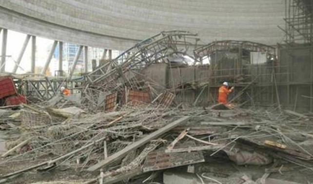 Elektrik santrali inşaatında göçük: 40 ölü