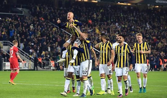 Fenerbahçe'den evinde müthiş zafer