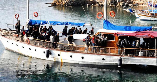 187 göçmen hayatını kaybetti