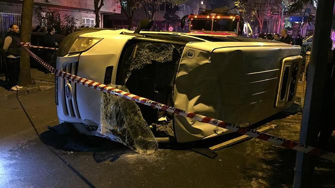 İstanbul'da trafik kazaları: 1 ölü, 6 yaralı