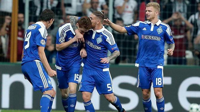 Dinamo Kiev farklı kazandı