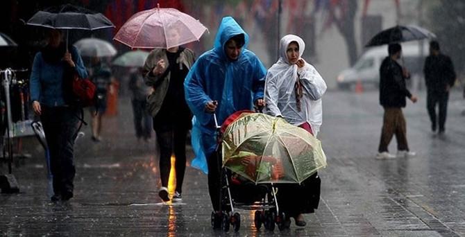 Batı bölgeler için kuvvetli yağış uyarısı