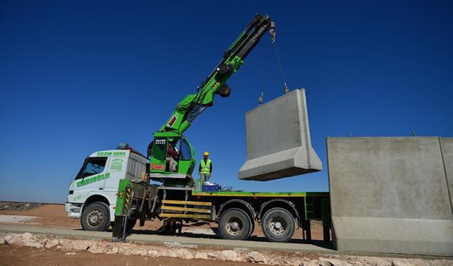 'Türk Seddi'nin inşası sürüyor