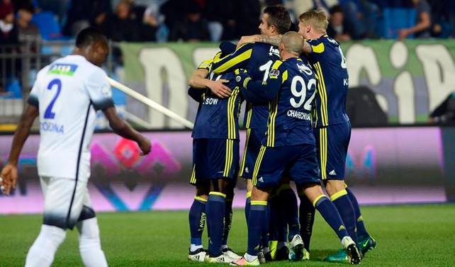 Fenerbahçe Rize'de farklı kazandı