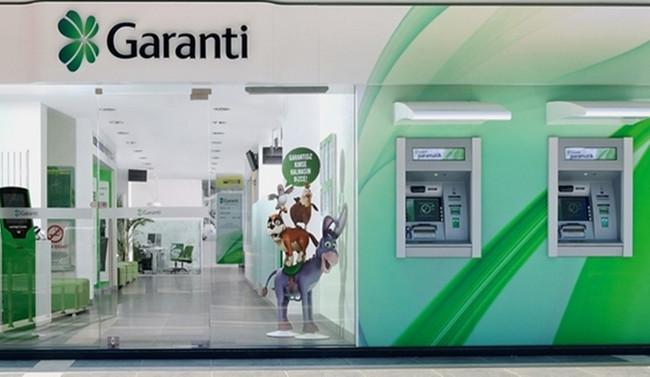 Garanti'den 1.3 milyar dolarlık kredi