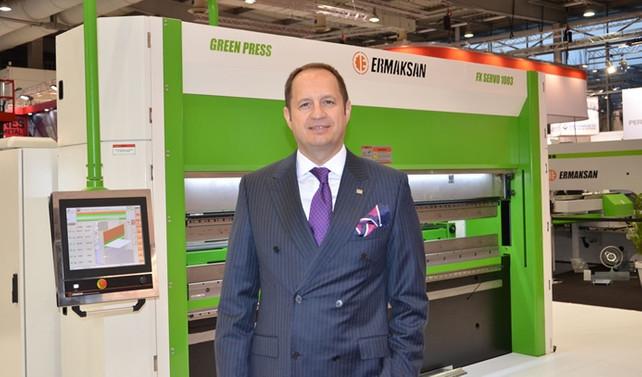 Ermaksan, yeni nesil üretimi Green Pres'i vitrine çıkardı