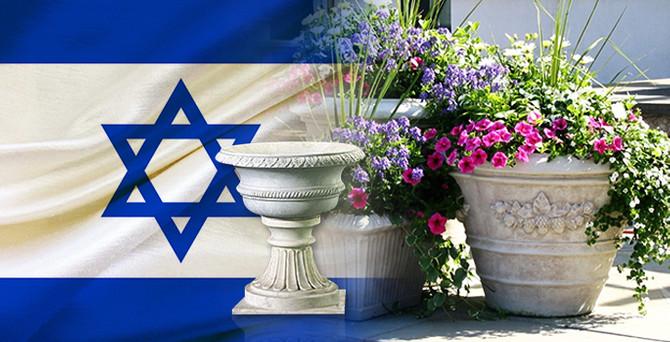 İsrail'den çiçekler için mermer saksı talep ediliyor