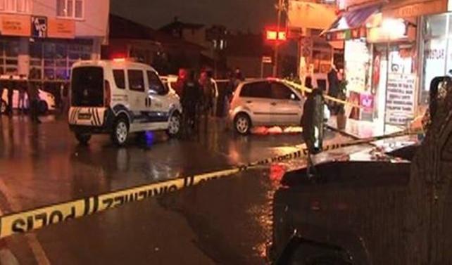 Sultanbeyli'de kahvehaneye silahlı saldırı