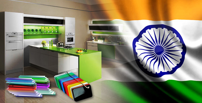 Hindistan, parlak akrilik levha istiyor