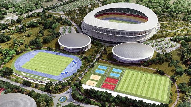 Kamerun'un en büyük spor kompleksini Türkler yapacak