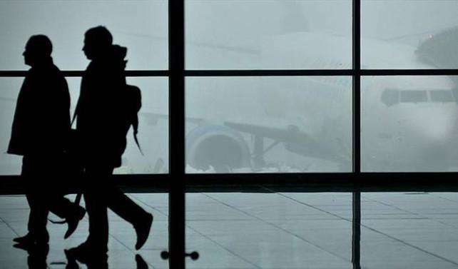 Sivas'ta hava ulaşımına sis engeli